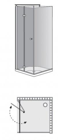 שרטוט מקלחון אומגה 1 מפואר 7225