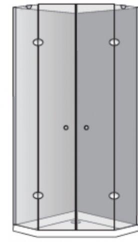 שרטוט מקלחון מקלחון אומגה K 5002