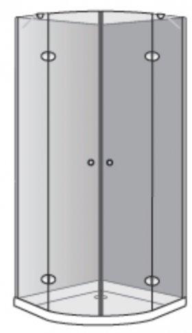 שרטוט מקלחון אומגה R 5006