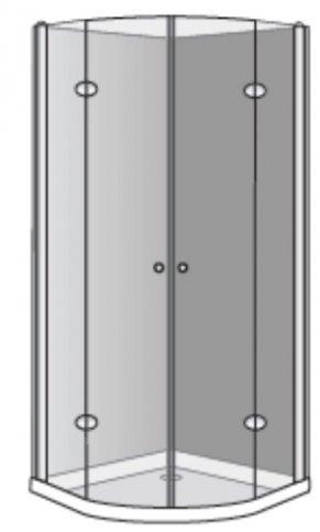 שרטוט מקלחון אומגה R מפואר 7506