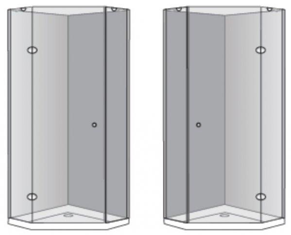 שרטוט מקלחון מקלחון אלפא 5004