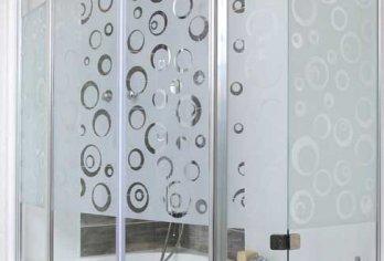 זכוכית מקלחון צריבה מסדרת 400