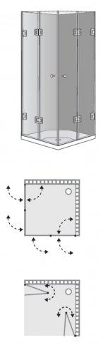 שרטוט מקלחון מקלחון בריסל 8780