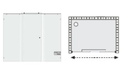 תרשים של מקלחון הזזה צינור כפולה 99020