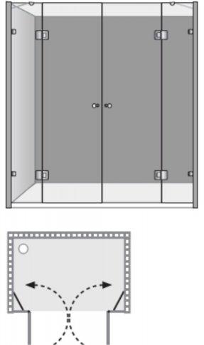 שרטוט מקלחון שטרן דגם ונציה 8500