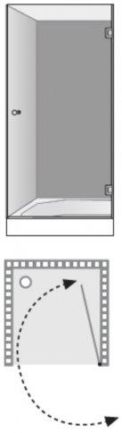 שרטוט מקלחון שטרן דגם לונדון 8200