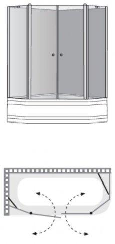 שרטוט מקלחון ליברה K3 4013