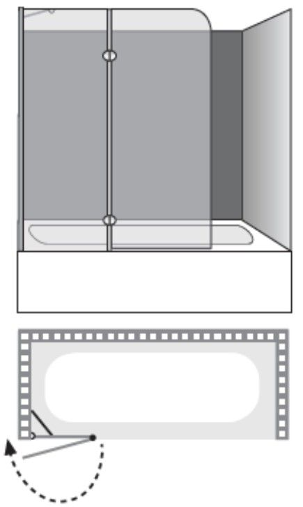 """שרטוט מקלחון B-Libress מק""""ט 4006"""