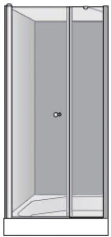 שרטוט מקלחון שטרן דגם גימיני 2 3003