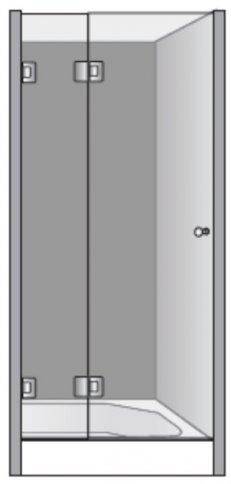 שרטוט מקלחון שטרן דגם רודוס 8444