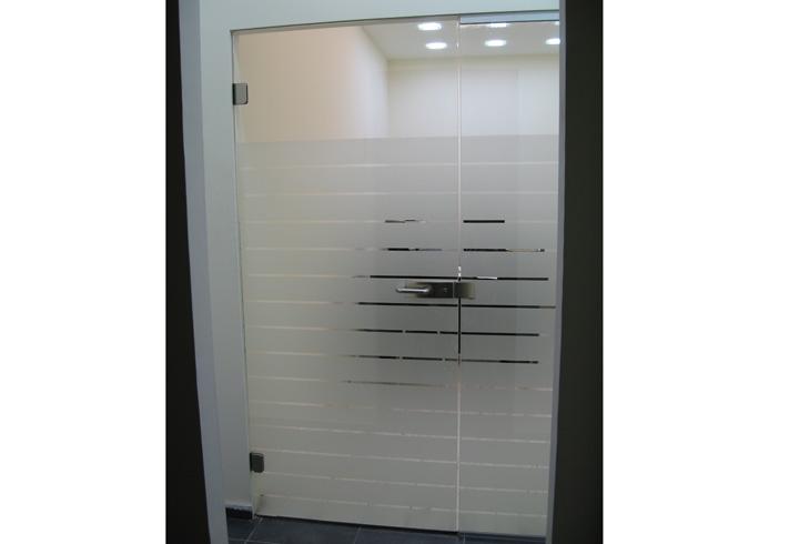 שונות דלתות זכוכית לעסקים - קבוצת שטרן YD-85