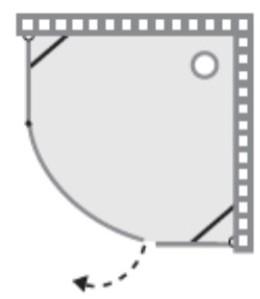 שרטוט מקלחון של חברת שטרן דגם אטלנטה 8097