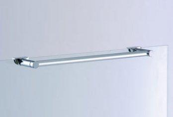 """מתלה מגבת עליון על דלת/קבוע מק""""ט 103 -בגימור ניקל מבריק ניתן להזמין בכל מידה עד 70 ס""""מ"""