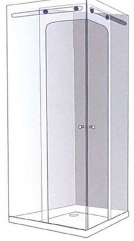 שרטוט מקלחון CNC פינתי 7701